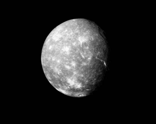 Imagery Photograph - Titania Moon by Nasa/science Photo Library