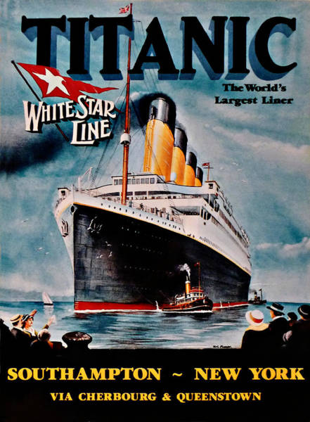 Photograph - Titanic - Unthinkable by Richard Reeve