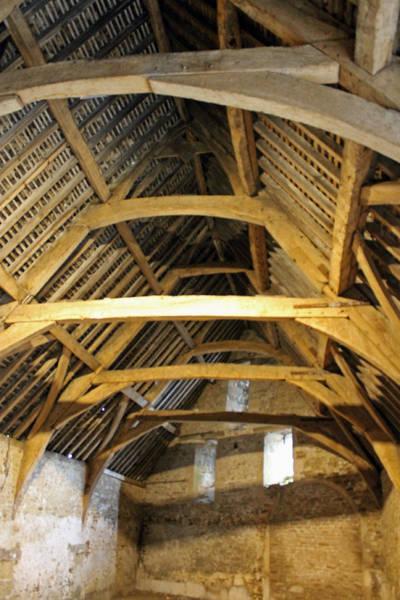 Photograph - Tithe Barn Interior by Tony Murtagh