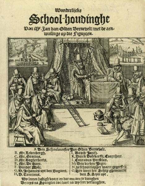 Spanish People Drawing - Title Print Of The Pamphlet In 1618 by Litz Collection