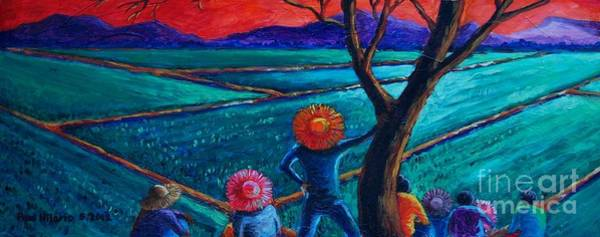 Wall Art - Painting - Tiyaga  Patience by Paul Hilario