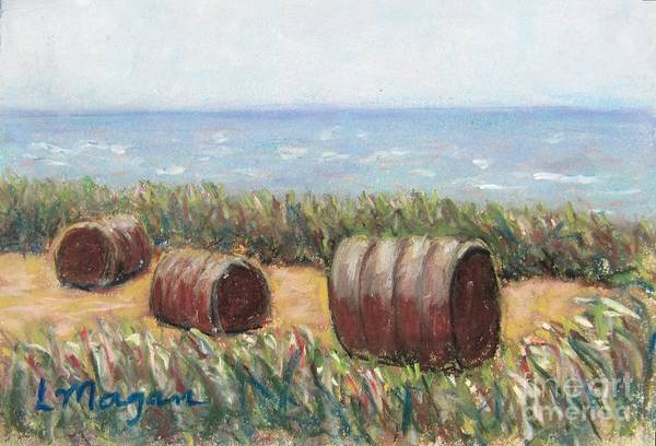 Painting - Harvest By The Sea by Laurie Morgan