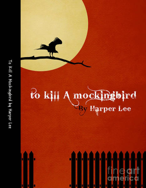 Front Room Digital Art - To Kill A Mockingbird Book Cover Movie Poster Art 1 by Nishanth Gopinathan