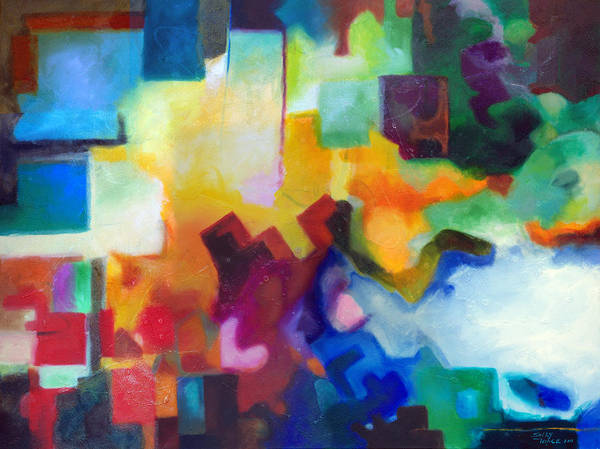 Painting - To See Beyond by Sally Trace