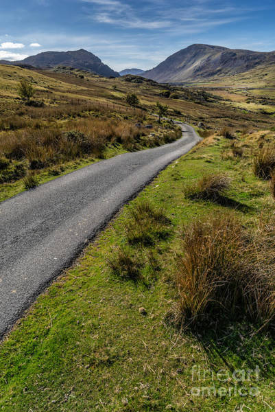 Winding Roads Photograph - To The Mountains by Adrian Evans