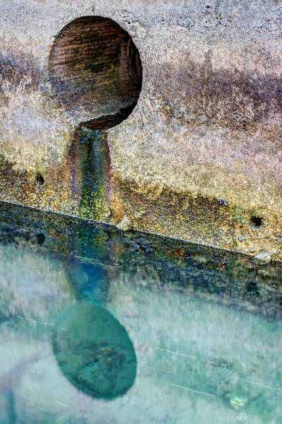 Drain Photograph - To The Ocean by Heidi Smith