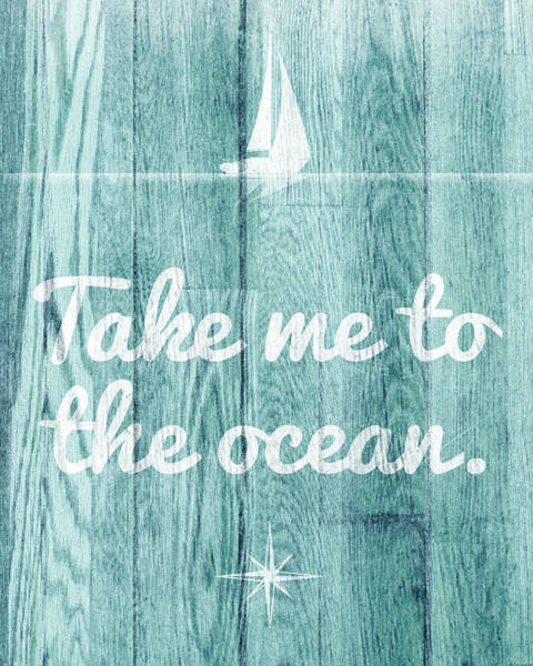 Wall Art - Digital Art - To The Ocean by Sd Graphics Studio