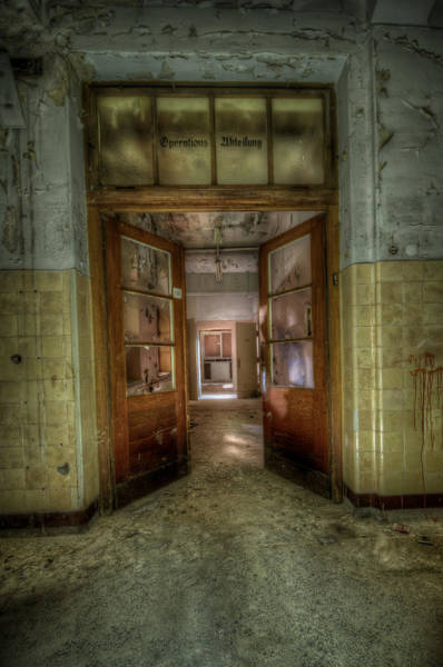 Wall Art - Digital Art - To The Operating Room by Nathan Wright