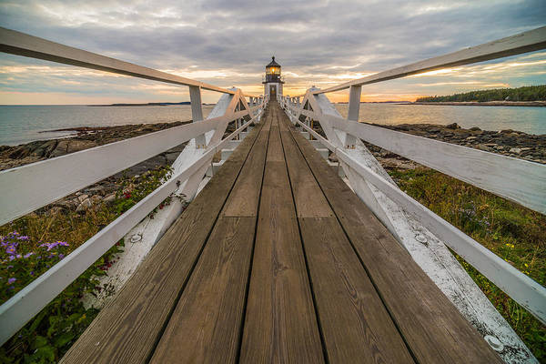Marshall Point Lighthouse Photograph - To The Point by Kristopher Schoenleber