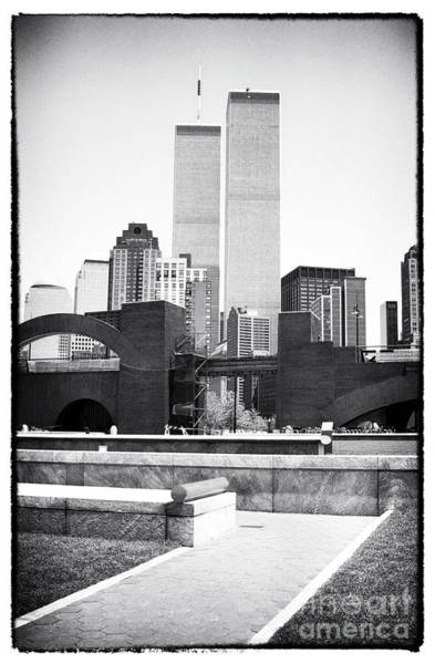 Photograph - To The Towers 1990s by John Rizzuto