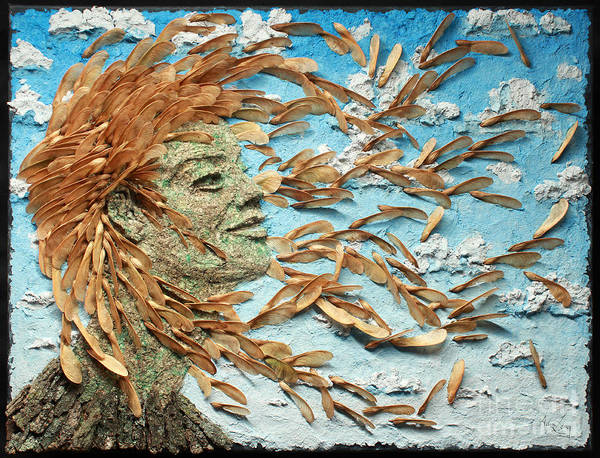Wall Art - Mixed Media - To The Wind by Adam Long