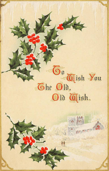 Photograph - To Wish You The Old Wish by Kristia Adams