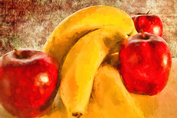 Painting - Still Life - Fruit - To Your Health by Barry Jones