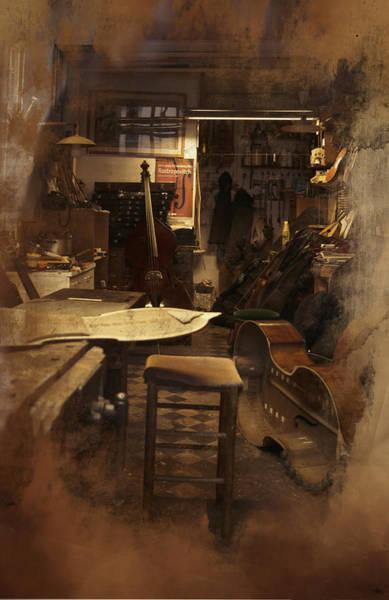 Tobacco Cello Art Print