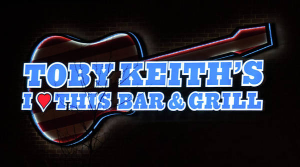 Photograph - Toby Keith's by Guy Whiteley