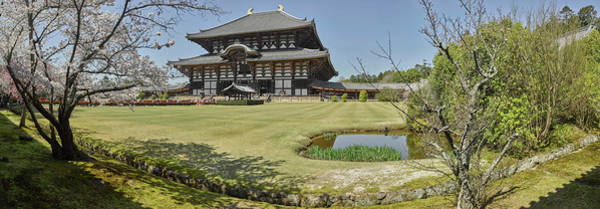 Nara Wall Art - Photograph - Todai-ji Temple, Nara, Nara Prefecture by Panoramic Images