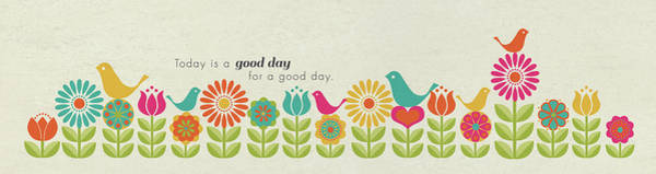 Wall Art - Painting - Today Is A Good Day by Tammy Apple