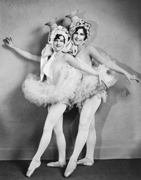 Photograph - Toe Dancers With Hats by Peralta