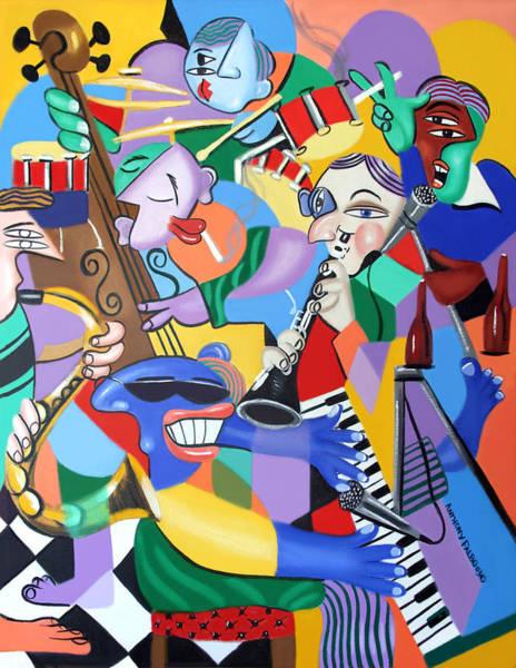 Jam Painting - Toe Jam by Anthony Falbo