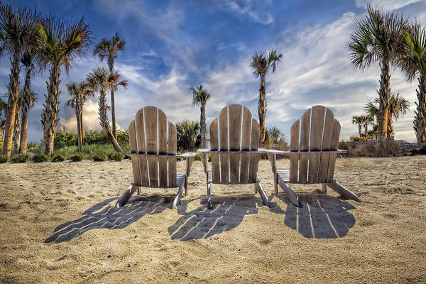 Photograph - Toes In The Sand by Debra and Dave Vanderlaan
