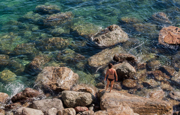 Photograph - Toes In The Sea by Alex Lapidus