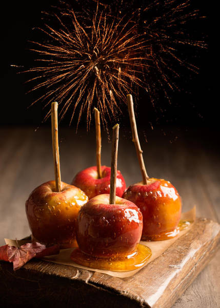 Candy Apples Wall Art - Photograph - Toffee Apples Group by Amanda Elwell