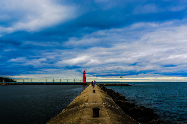 Photograph - Together At The Lighthouse by Randy Scherkenbach