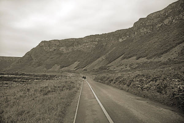 Basalt Photograph - Together -- Giant's Causeway  by Betsy Knapp