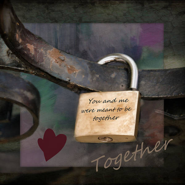 Photograph - Together by Robin-Lee Vieira