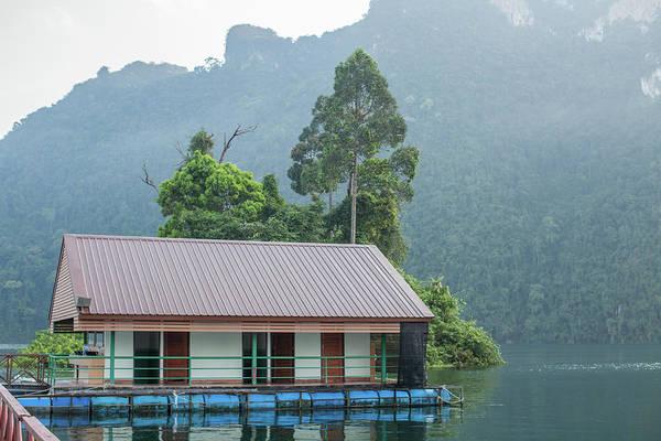 Toilet Block On Chieow Laan Lake Art Print