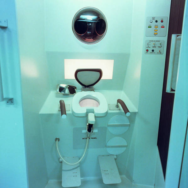 Toilet Photograph - Toilet Designed For The Us Space Station by Nasa/science Photo Library