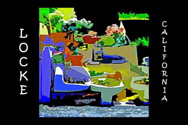 Digital Art - Toilet Garden Of Locke by Joseph Coulombe