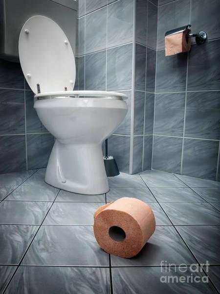 Toilet Photograph - Toilet by Sinisa Botas