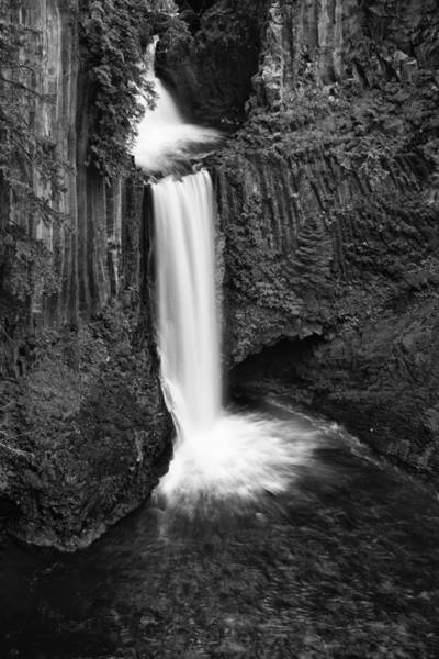 Basalt Photograph - Toketee Falls by Andrew Soundarajan