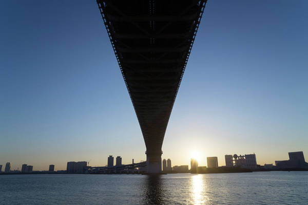 Japanese Culture Photograph - Tokyo Bay At Sunrise by Glidei7