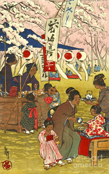 Wall Art - Photograph - Tokyo Blossoms 1914 by Padre Art