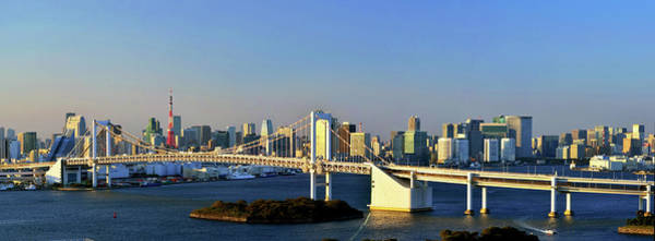 Wall Art - Photograph - Tokyo Downtown Panorama by Vladimir Zakharov