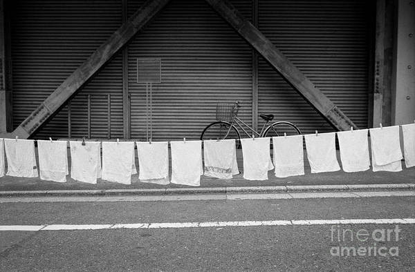 Wall Art - Photograph - Tokyo Laundry Day by Dean Harte