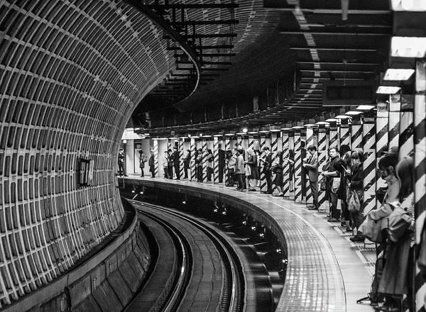 Wall Art - Photograph - Tokyo Metro by Carlos_grury_santos