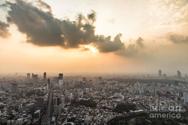 Photograph - Tokyo Stunning Sunset by Didier Marti