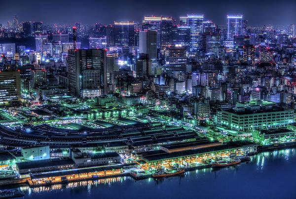 Harbour Photograph - Tokyo by Tomoshi Hara