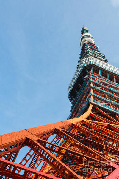 Photograph - Tokyo Tower by Didier Marti