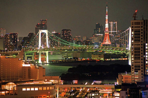 Japan Photograph - Tokyo Tower by The Landscape Of Regional Cities In Japan.