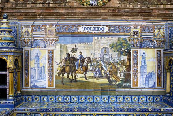 Photograph - Toledo In The Province Alcove Of The Plaza De Espana by Lorraine Devon Wilke