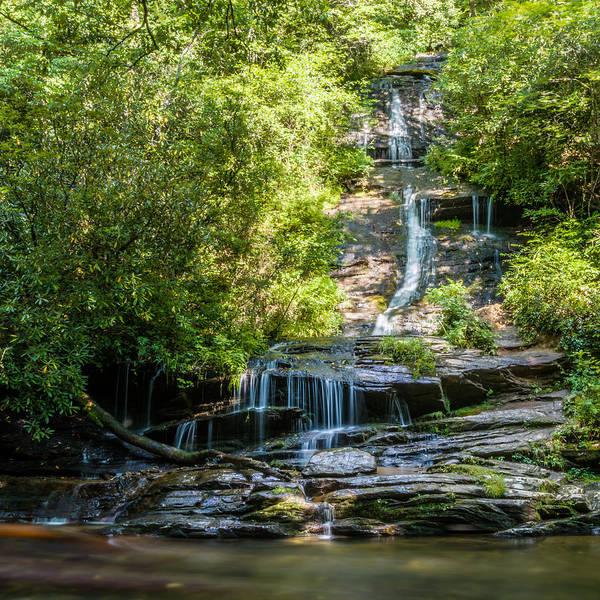 Photograph - Tom Branch Falls 2 by Randy Scherkenbach