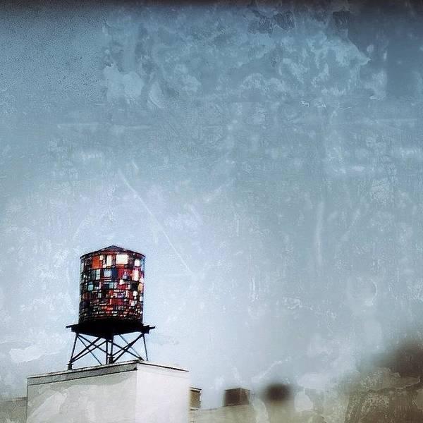 Wall Art - Photograph - Tom Fruin's Watertower by Natasha Marco