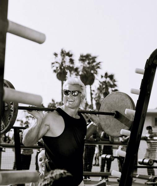 Photograph - Tom Platz In Los Angeles by Shaun Higson