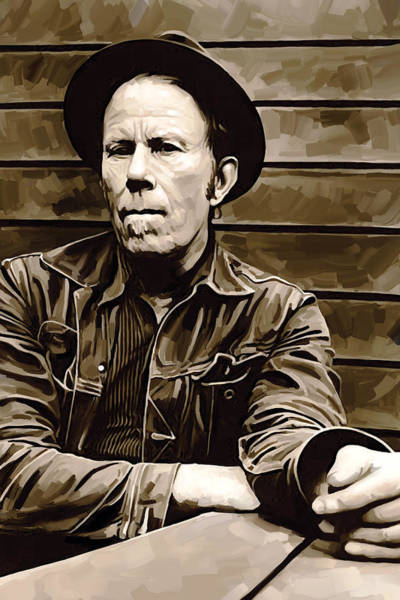 Wall Art - Painting - Tom Waits Artwork 2 by Sheraz A
