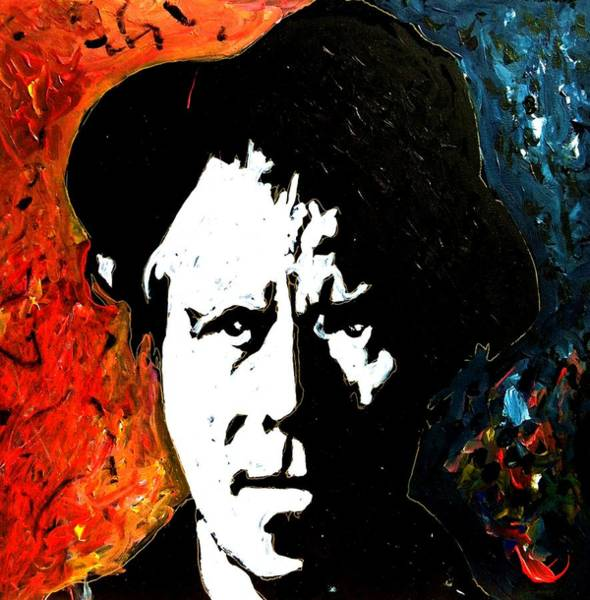 Painting - Tom Waits by Neal Barbosa
