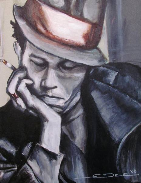 Painting - Tom Waits One by Eric Dee